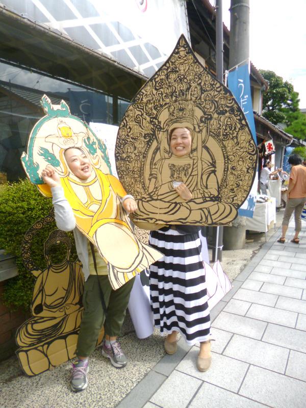 """2D仏像顔出し看板ギャラリー2"