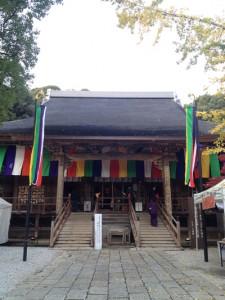昼間の竹林寺