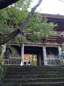 竹林寺入口門